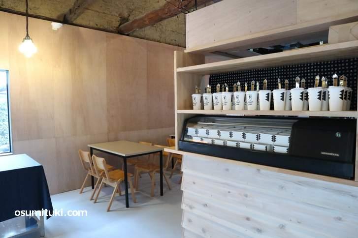 醍醐寺が使っていた古い建物をリノベーションして開店したカフェ「秀吉珈琲」