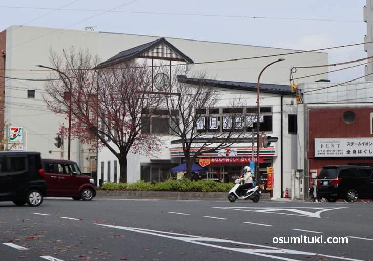 京都の千本今出川に新しいセブンイレブンが新店オープン