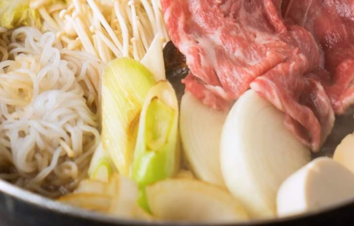 京都では「賀茂ねぎ」はすき焼きで使われています