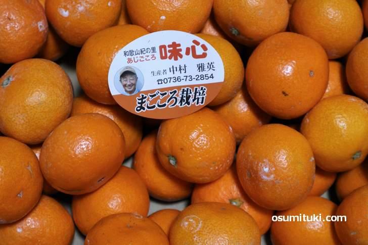 京都にしか出荷されない有田みかん「味心(あじごころ)」