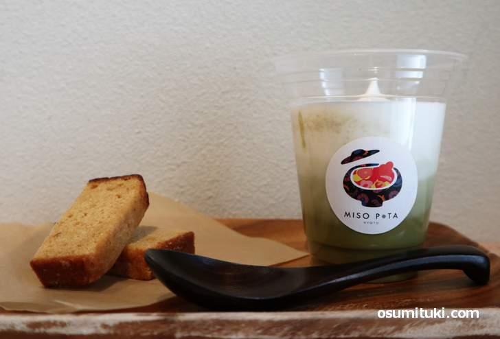 MISO POTA「整える緑 ほうれん草あ&かぶ」と味噌パウンドケーキ