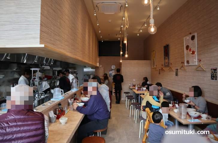 担々麺専門店「担担 松井山手店」開店日は大いに賑わっていました