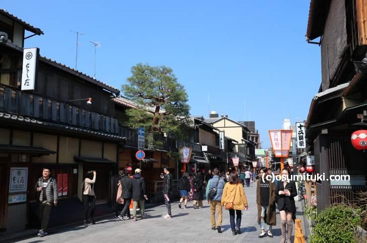 松重豊さんが歩いた祇園の建仁寺周辺
