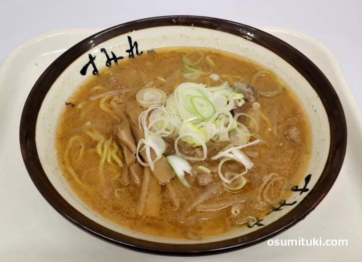 すみれ 味噌ラーメン(896円)