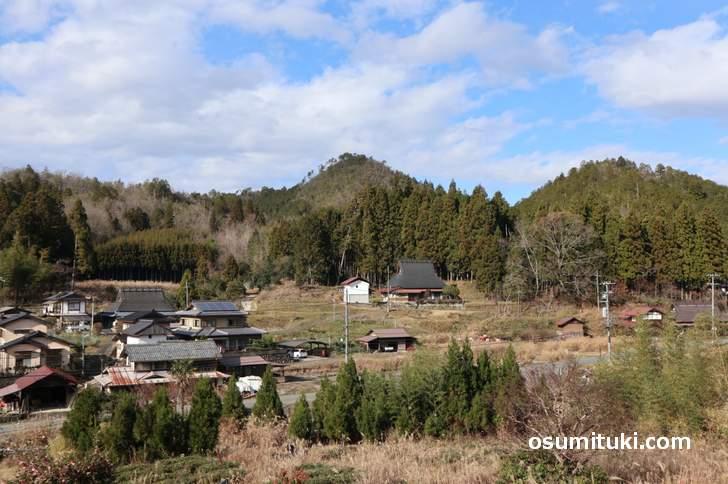 農家民宿「Banja」さんから見た「京北下熊田町」の原風景がステキ過ぎます