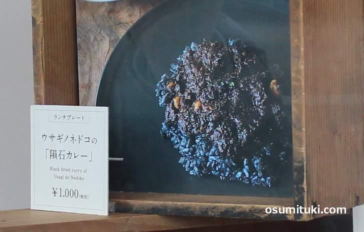 ウサギノネドコの隕石カレー(1000円)