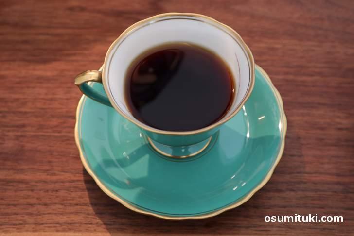 かふぇ&雑貨 Potter. のコーヒー、器がきれいです