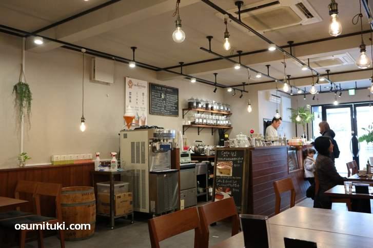 金閣寺すぐ近くのコーヒー専門店「カフェ バニーマタル」
