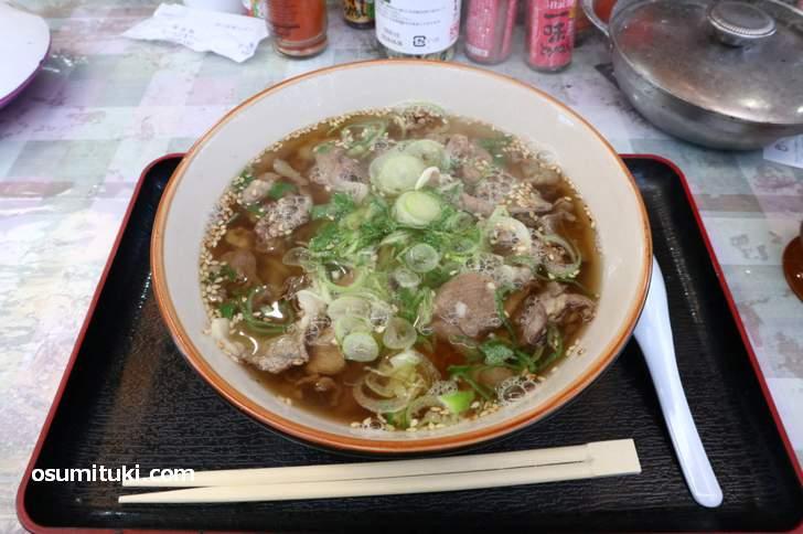 二代目猪肉ラーメン 450円(200g)