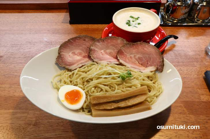 みらくる つけ麺(1000円)