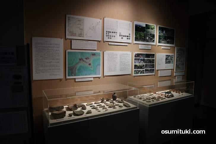 京都市考古資料館 速報展示「檜尾古寺跡(ひのおこでらあと)」