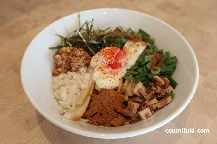 西院麺ism「台湾まぜそば」