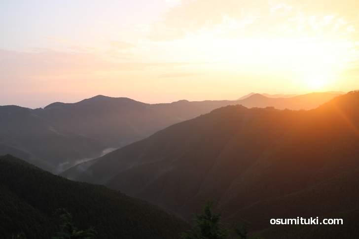 世界遺産「高野山」がある紀伊山地、その北側にあるのが和歌山県橋本市高野口町