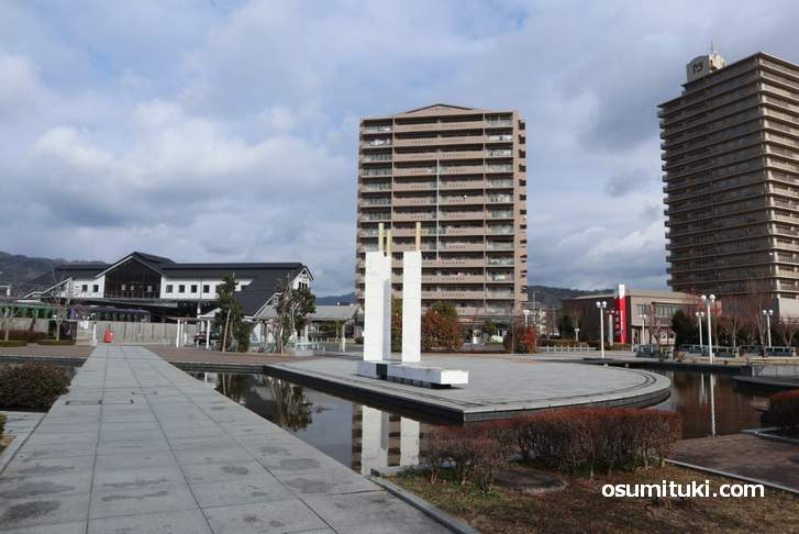 幻の大仏鉄道を巡る旅、スタートは加茂駅東口です