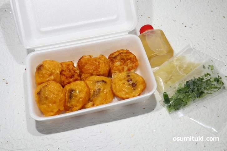 明石玉子焼(明石玉子焼の店ハーモニー)味わいは?