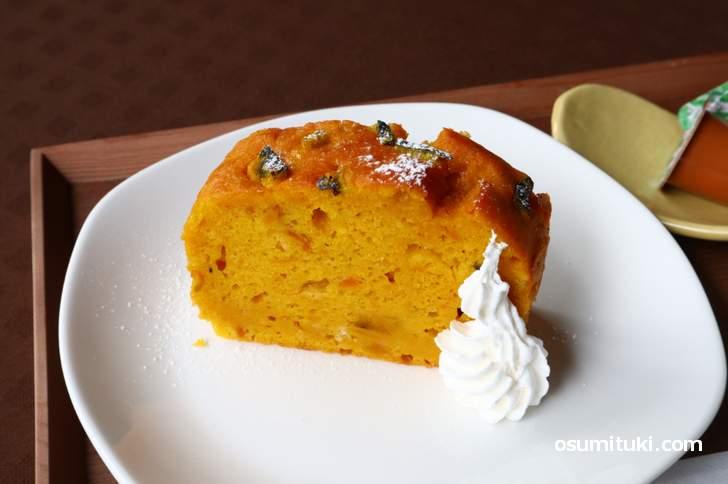 かぼちゃのパウンドケーキ(カフェぷあぷ)