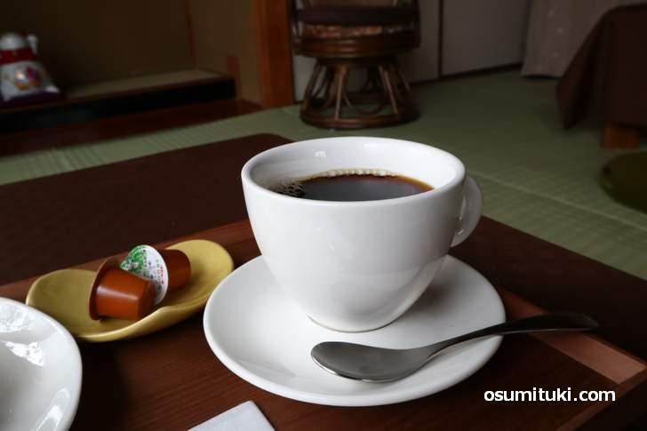 コーヒーは「粉屋珈琲」さんの豆