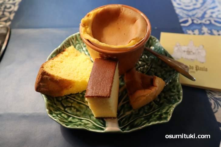地元のポルトガル菓子専門店「カステラ・ド・パウロ」の伝統菓子がテレビで紹介されます