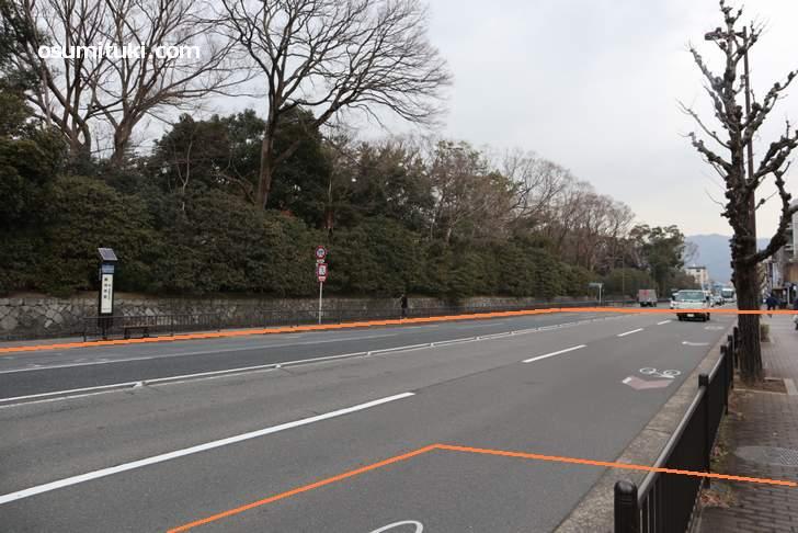 京都の不思議な町「桑原町」(オレンジ線内が町)