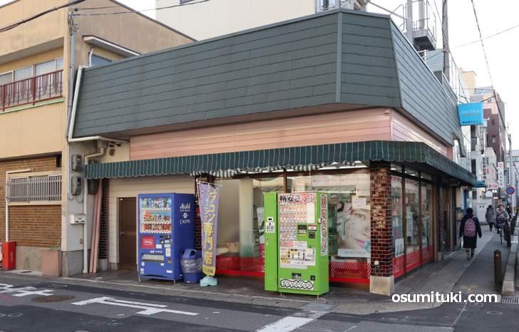 阪急桂駅の格安キップ自販機の場所(2)