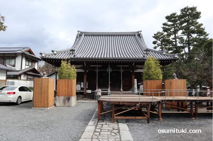 廬山寺(ろさんじ)、紫式部の邸宅跡として知られる京都の寺