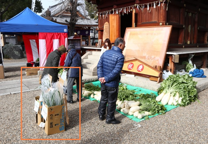 難波ネギは特別な催しか大阪モン野菜を扱う専門店でのみ売られています