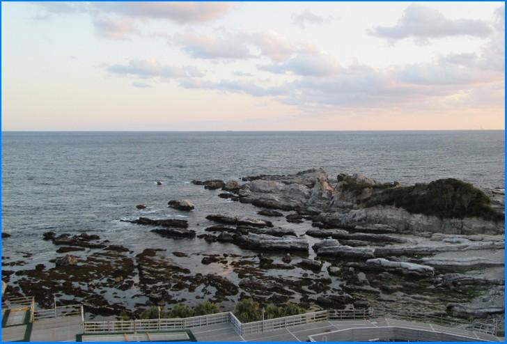 ハイカラ漁は主に外房の沖合で11月~1月にかけて行われる漁法です(写真は鴨川沖)