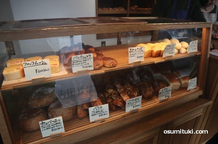 吉田パンさんはホテルやレストランにパンを卸していて実店舗はありませんでした