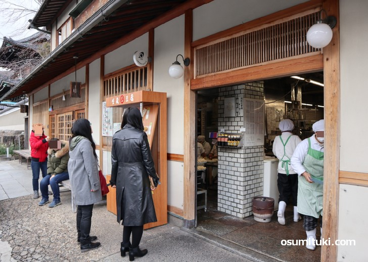 京都にある有名な豆腐店「森嘉」では常に行列ができていますが・・・・