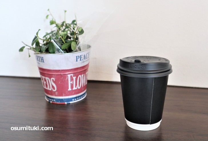 テークアウトコーヒー(ブレンド)480円