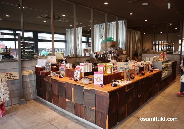 長岡京市に「西の横綱」と言われるコーヒー自家焙煎所Unir(ウニール本店)があります