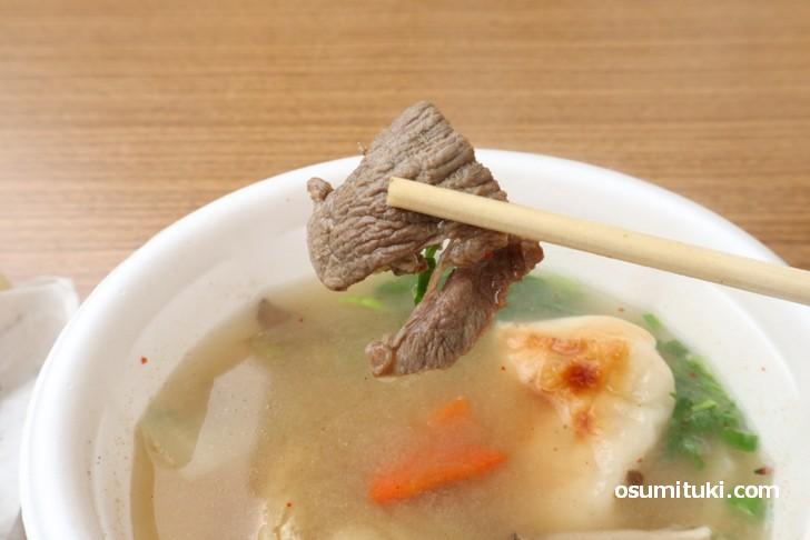 イノシシ肉、東京にいた時には食べることはなかった食材です