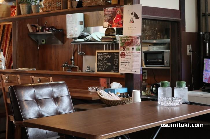 京都・西院のカフェ「カムナカフェ」超穴場です