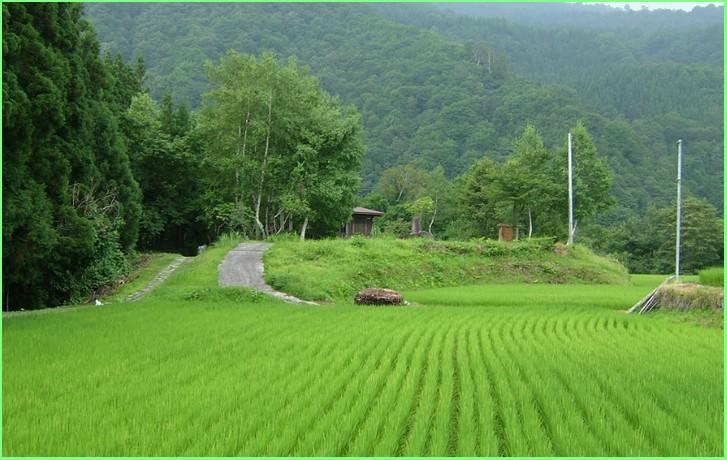 長野県屈指の秘境「秋山郷」の風景