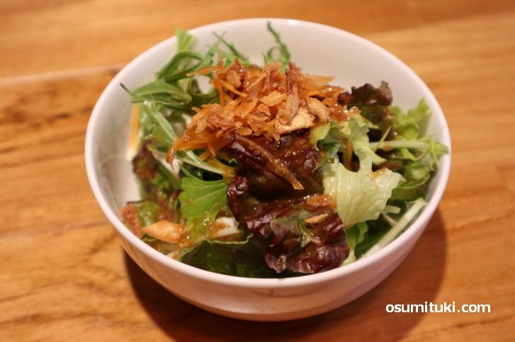 セットのサラダ(steakJ kyoto)