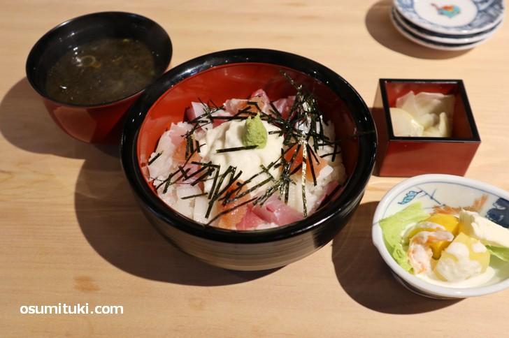 まかない丼(寿司ふじ井)800円