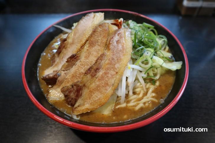 一乗寺「麺将 重厚軍団」の味噌ラーメン