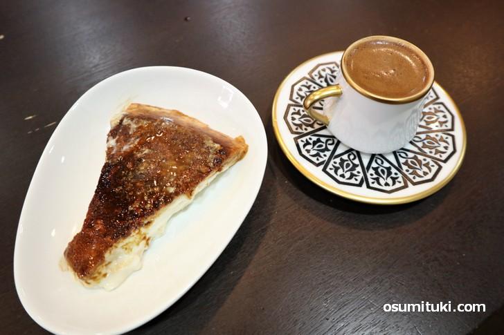 マスティックというコーヒー、そしてスイーツは「カザンディビ」マスティックというコーヒー、そしてスイーツは「カザンディビ」