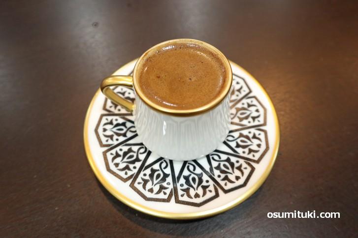 マスティックは樹液のコーヒーです