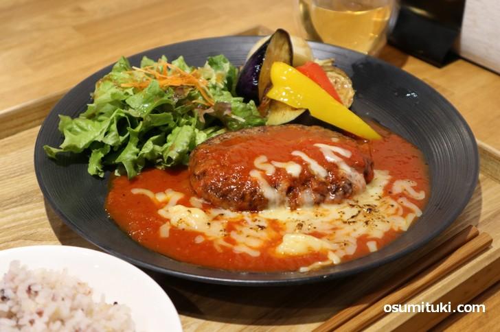 美容と健康に良いハンバーグが食べられるお店が京都にはある