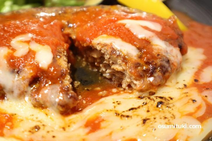 イタリアンシェフ特性のトマトチーズソースが美味です(らくえんcafe)