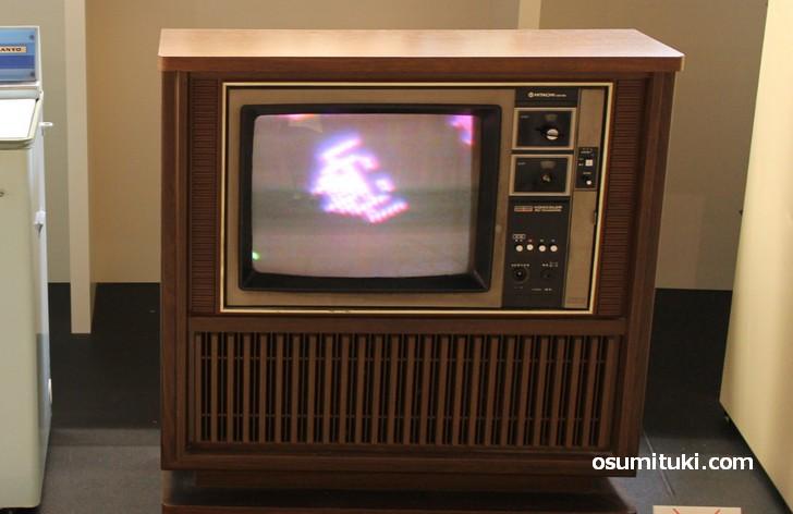 HITACHI社製ブラウン管カラーテレビ