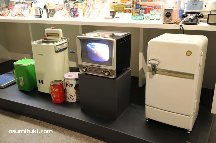 三種の神器と呼ばれた昭和家電が琵琶湖博物館で見られる