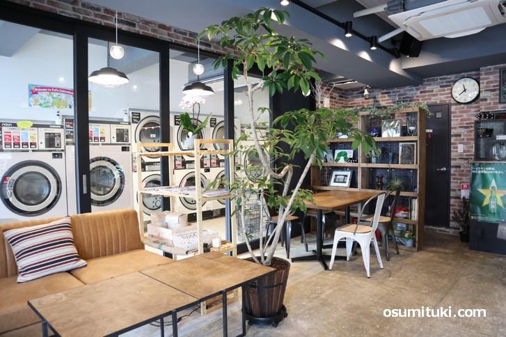 京都市内初!ソーシャルランドリー・カフェ「KYOTO LAUNDRY CAFE」
