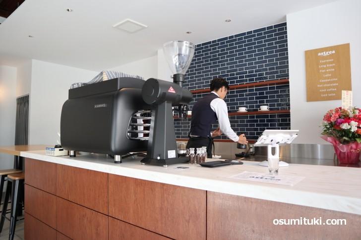新店オープンした astreacoffee (アストレアコーヒー)
