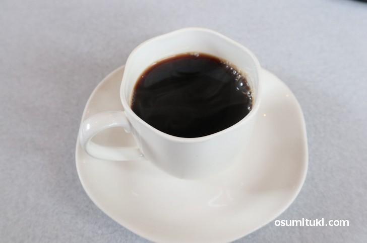 定食に+150円で付けられる食後のコーヒー