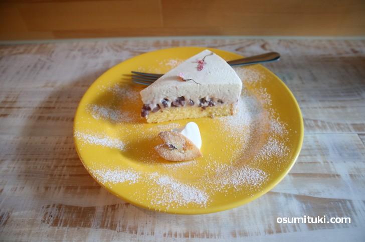 SUGAR TOOTH cafe の自家製チーズケーキが絶品