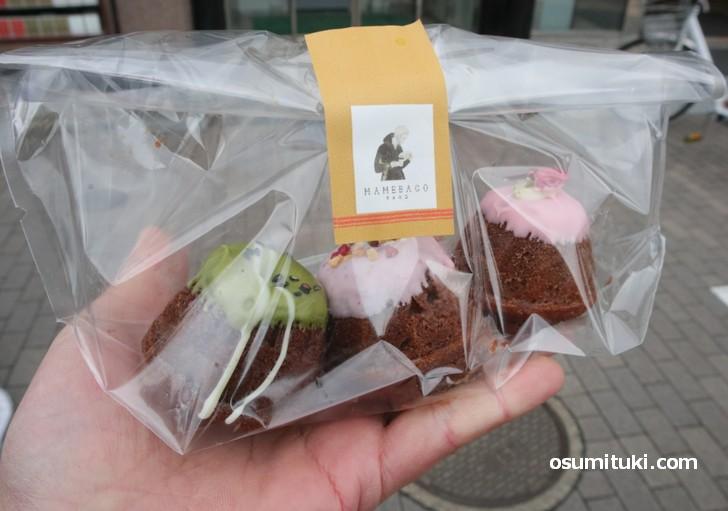 焼き菓子クグロフ(3種類)750円