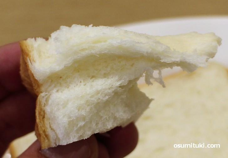 モチッとふんわり、生食するための食パンが「乃が美」の高級「生」食パンです