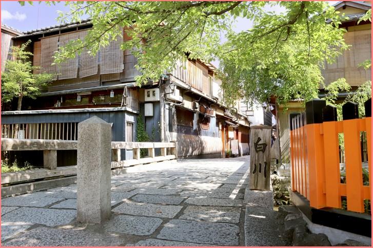 祇園白川・巽橋すぐ近くです
